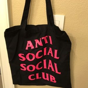 Anti social social club tote
